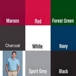 Gildan Softstyle Mens kort erme dobbel Pique Polo skjorte Rødbrun S