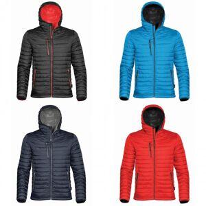 Stormtech Mens tyngdekraften hette termisk vinter jakke (solid vanntett) Blå/sort L