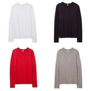 Alternative Apparel menns 50/50 keeper langermet T-skjorte Vintage kongeblå S