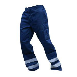 Portwest Mens Iona sikkerhet Workwear bukser Mørk marineblå L/R