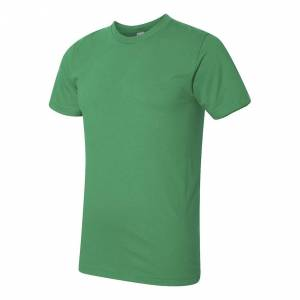 American Apparel Mens Fine Jersey Tee Oliven 2XL