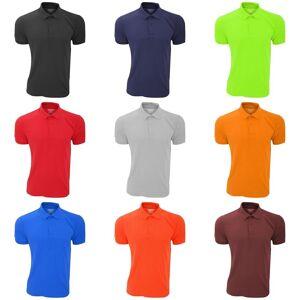 Gildan Mens DryBlend voksen Sport dobbel Pique Polo skjorte Marinen 2XL