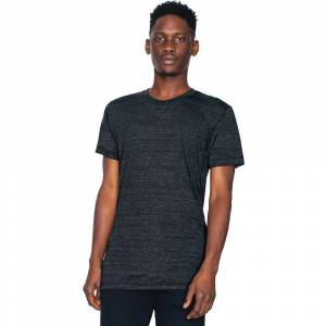 American Apparel Mens Triblend Short Sleeve Durable Track T-Shirt A...
