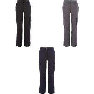 Alexandra kvinners/damer Tungsten Service bukser Svart 10R