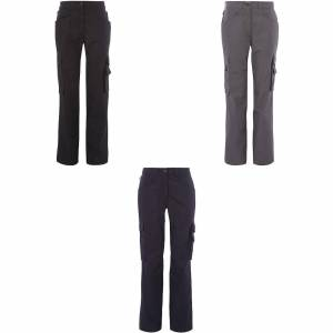 Alexandra kvinners/damer Tungsten Service bukser Marinen 16S