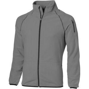 Slazenger Mens slipp skutt Full Zip microfleece-jakke Grå XL