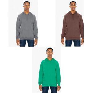 American Apparel Unisex voksne Pullover Hettegenser Kelly grønn M