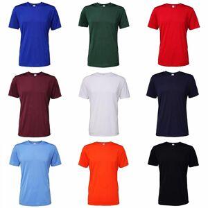 Gildan Mens Core kort erme fuktighet Wicking t-skjorte Heather Sport mørk marineblå XL