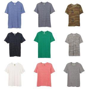 Alternative Apparel Alternative klær Mens Eco Jersey mannskapet t-skjorte Eco elfenben S
