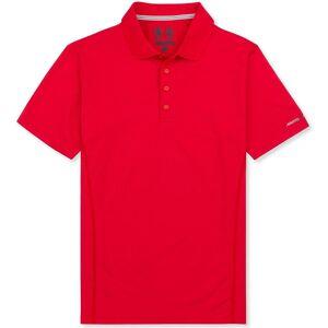 Musto Mens utviklingen Sunblock kort ermet Polo skjorte Sant rød M