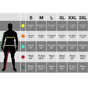 TRESPASS Overtredelse Mens Grenada kort erme Zip hals atletisk t-skjorte Hei Vis gul XS