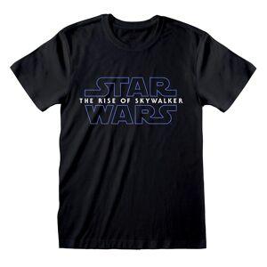 Star Wars Unisex Voksen Fremveksten av Skywalker Logo T-skjorte Svart XXL