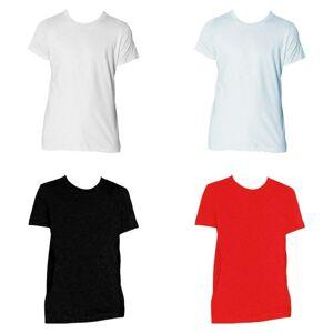 American Apparel ungdommer Fine Jersey t-skjorte Hvit 8 Years