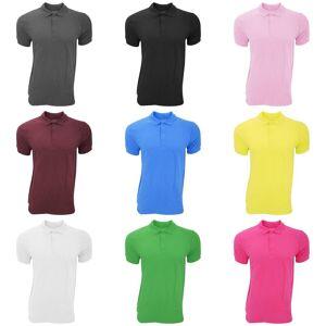 Gildan Mens premie bomull Sport dobbel Pique Polo skjorte Lilla XL