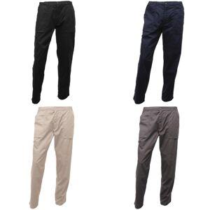 Regatta Mens Sport nye Action-bukser Mørk grå 32 x Long