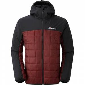 Berghaus Reversa Jacket - Jet sort/rød Dahlia