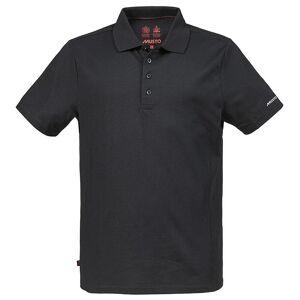 Musto Mens utviklingen Sunblock kort ermet Polo skjorte Svart S