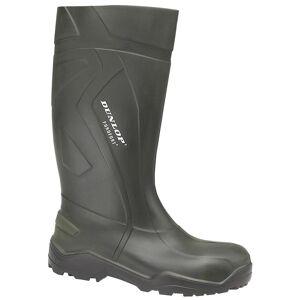 Dunlop Purofort + D760933 Wellington / Mens støvler Grønn 43 EUR