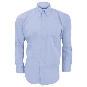 Kustom Kit Kustom orientert Kit Mens langermet Corporate Oxford skjorte Svart 16.5inch