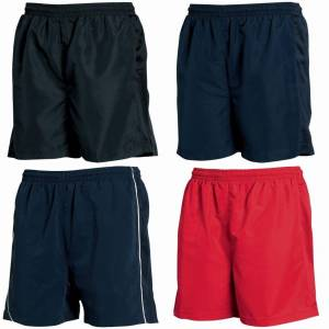 Tombo Teamsport Mens foret ytelse sport Shorts Rød M