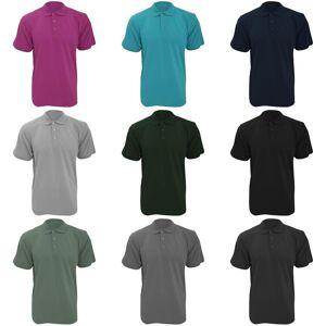 Kustom Kit Kustom orientert Kit Workwear Mens kort ermet Polo skjorte Grafitt XS