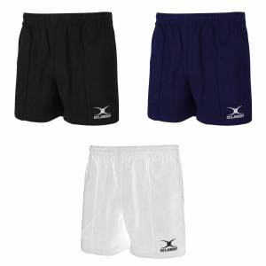 Gilbert Rugby Mens Kiwi Pro Rugby Shorts Hvit M