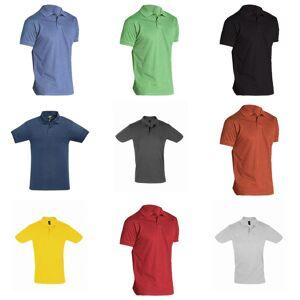 SOL's SOLS menns perfekt Pique kort ermet Polo skjorte Hvit XXL