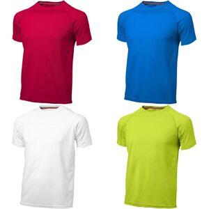 Slazenger Mens tjene kort erme t-skjorte Apple Green XXL