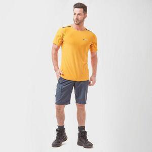 Berghaus New Berghaus Men's Super Tech Short Sleeve T-Shirt Yellow