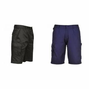 Portwest Mens bekjempe Shorts Marinen L