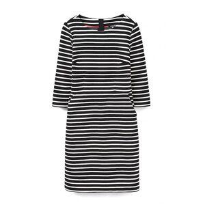 Joules Joule Miriam Ladies kjole (W) Svart Stripe Uk8 Eu36 Us4