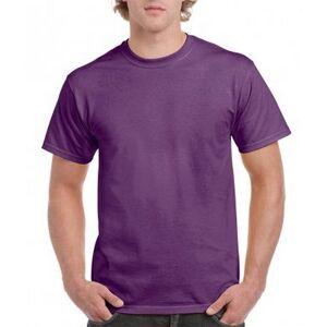 Gildan Mens Hammer tungvekt t-skjorte Lys rosa XL