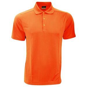Nike Mens Nike Dri-Fit idrett Polo skjorte Team oransje S