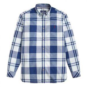 Joules Joule joule Whittaker langermet klassisk passer skjorte (Z) Indigo Over sjekk S