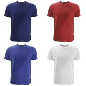 Canterbury Mens Team ren kort erme t-skjorte Rød L