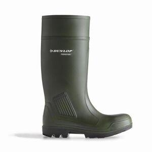 Dunlop D460933 Purofort PRO ikke-sikkerhet / Mens støvler / Plain gummi gummistøvler Grønn 45 EUR