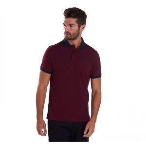 Barbour Barbour Sports Mix Mens Polo Skjorte Dk rød Xl