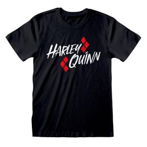 Batman Unisex Voksen Harley Quinn T-skjorte Svart S