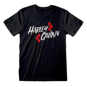 Batman Unisex Voksen Harley Quinn T-skjorte Svart XXL