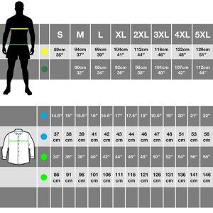 Premier Mens Microcheck lang ermet skjorte Navy/hvit S