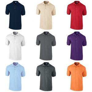 Gildan Mens Ultra bomull Pique Polo skjorte Hvit S