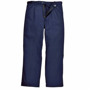 Portwest Mens Bizweld Workwear bukser / bukse Marinen 5XL x Regular