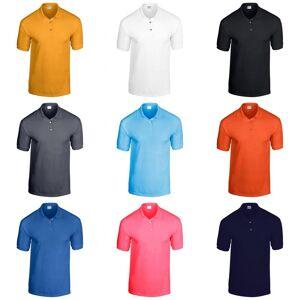 Gildan voksen DryBlend Jersey kort ermet Polo skjorte Hvit L