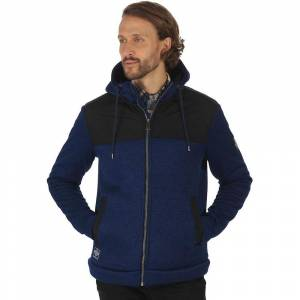 Regatta Mens Ryne Polyester Knit Effect Water Repellant Fleece Jack...