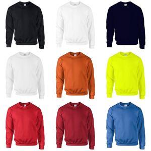 Gildan DryBlend voksen satt Crew hals genser (13 farger) Rød L