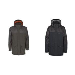 Trespass Overtredelse Mens Larken vanntett DLX jakke Svart XL