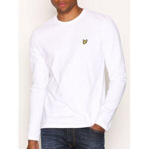 Scott Lyle & Scott LS Crew Neck T-shirt Gensere White