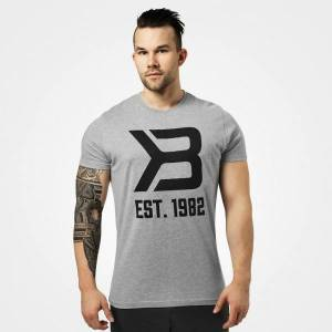 Better Bodies Washington Tee - Grey Melange