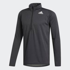 Adidas Freelift Training Half Zip Genser Herre - Sort