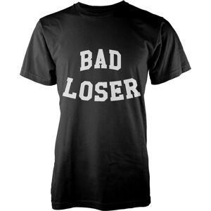 Geekdown Bad Loser T-Shirt - Black - S - Black